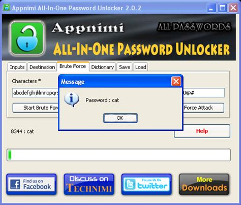 opening rar without password